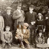 36 - Family portrait including dog