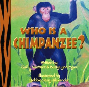 WhoIsAChimpanzee front cover