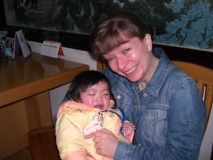 Meeting Leah in Changsha