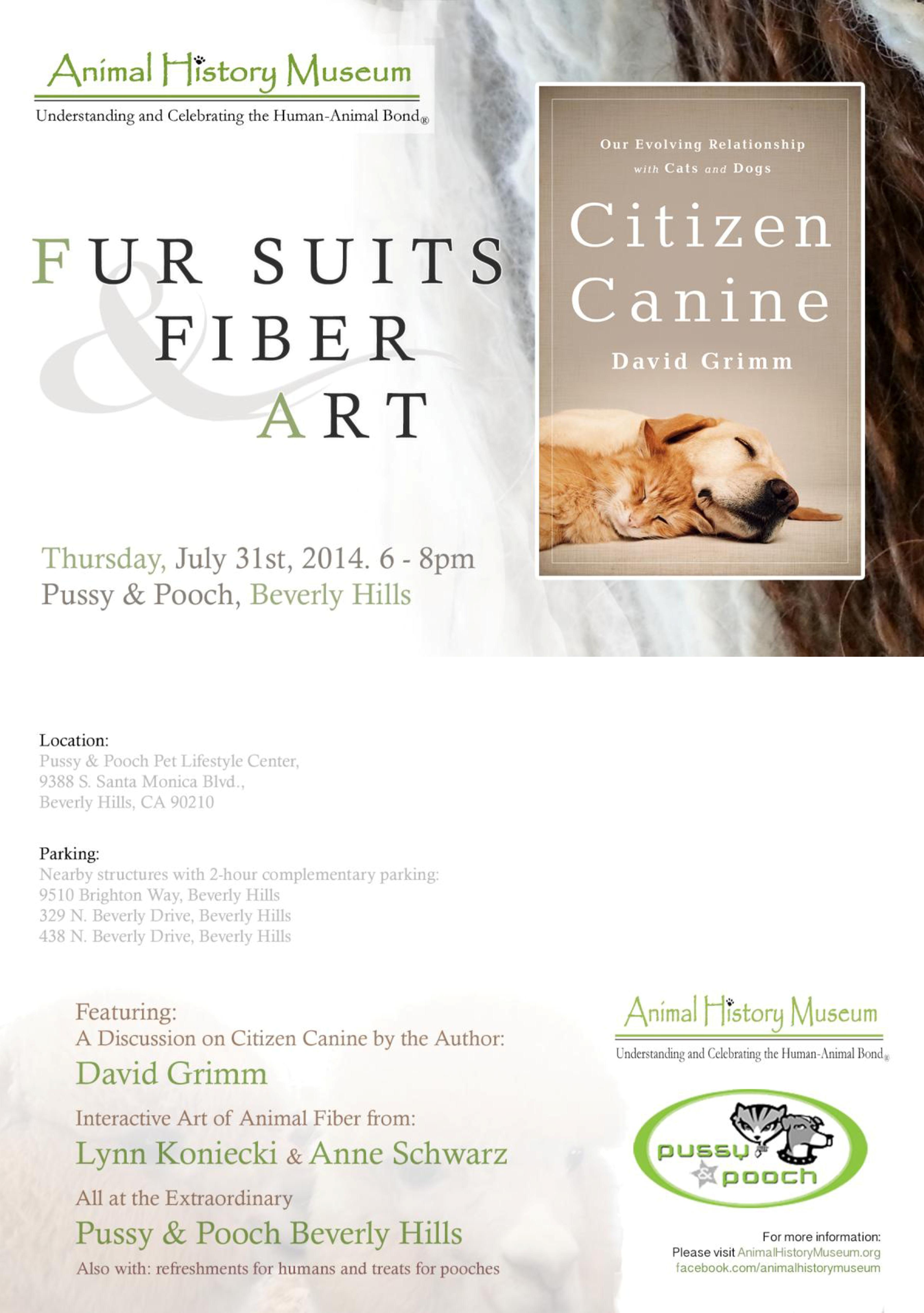 fur suits and fiber art animal history museum. Black Bedroom Furniture Sets. Home Design Ideas